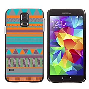 Graphic4You COLORFUL TRIBAL PATTERN HARD CASE COVER FOR Samsung Galaxy S5