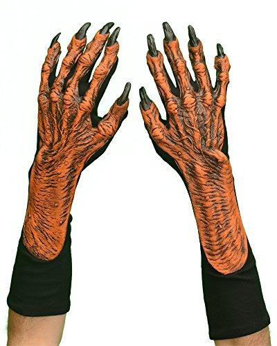 Hands Pumpkin Gloves ()