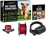 Earlyhights Underground Invisible Electric Outdoor Dog Fence Containment System,10 Acre Range 1000 Ft