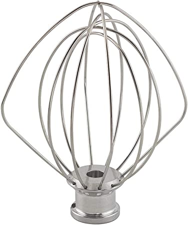 Stand Mixer 4.5qt 6-Wire Whip for KitchenAid WP9704329 KSM150 9704329 K45WW