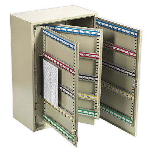 SEALEY SKC300 Key cabinet, 300 Key Capacity 300 Key Capacity