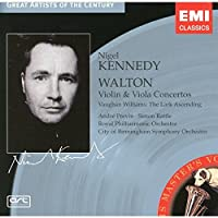 Walton: Violin and Viola Concertos; The Lark Ascending