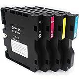 QINK 4 PACK (BK C M Y) GC-41 Transfer SUB Ink Cartridges for Ricoh Aficio SG2100 SG3110DN SG2010 (Heat Transfer)
