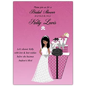 gifts abound african american bridal shower invitations