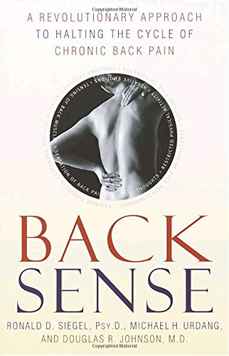 Back Sense: A Revolutionary Approach to Halting the Cycle of Chronic Back Pain PDF