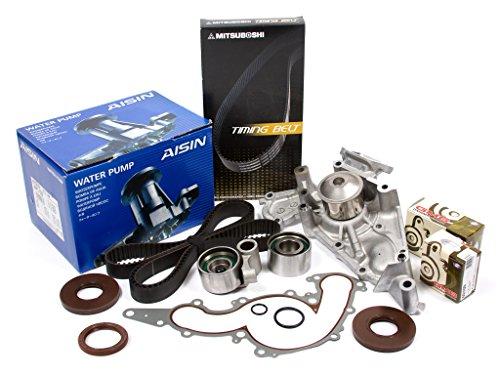 (Evergreen TBK298MWPA Fits 98-07 Toyota Lexus 4.7 2UZFE Timing Belt Kit AISIN Water Pump)