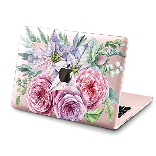 Floral Macbook 12 Pro 13 15 2018 Full Printed Hard Case Roses Macbook Air 13 11