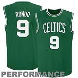 Men's Rajon Rondo #9 Basketball Jersey Alternate Jersey - Kelly Green
