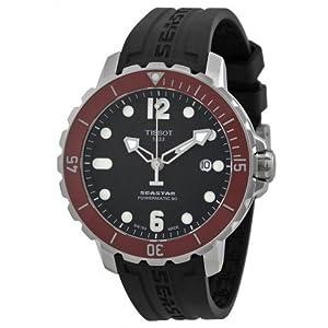 Tissot T0664071705703 T-Sport Seastar Mens Watch - Black Dial