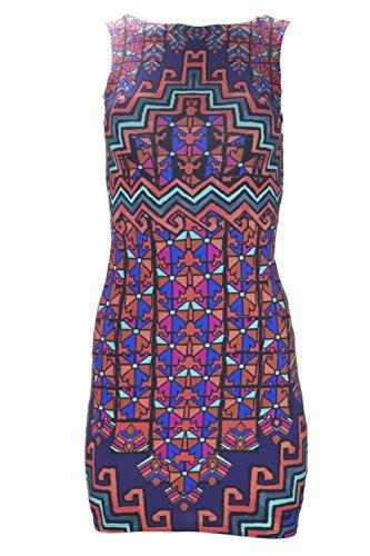 (Mara Hoffman Cut-Out Back Mini Dress X-Small Purple)