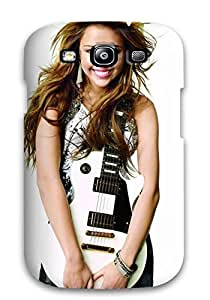 New Cute Funny Miley Cyrus 61 Case Cover/ Galaxy S3 Case Cover by mcsharks