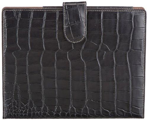 Bogner IPAD - Organizador de bolso de cuero unisex negro - Schwarz (black 001)