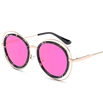 Gafas de Sol Retro de Moda Gafas de Sol Redondas Gafas de ...