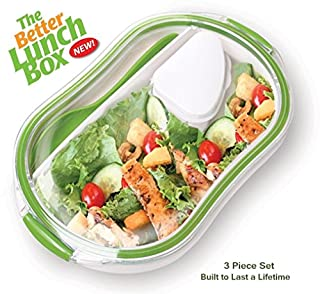 The Better Lunch Box - 3 Piece Set - Lunch on the Go Has Never Been More Stylish or Convenient. (B00EBGTXES) | Amazon price tracker / tracking, Amazon price history charts, Amazon price watches, Amazon price drop alerts
