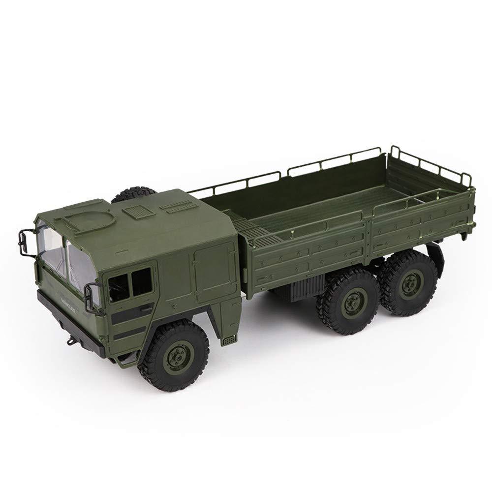 DingLong JJRC Q64 RC 1:16 2,4G Fernbedienung 6WD verfolgt militärisches LKW-Geländewagen RTR