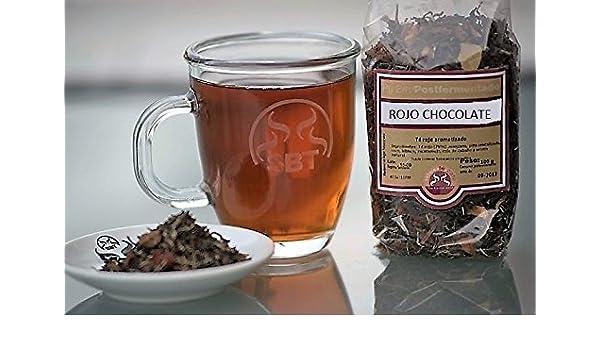 SABOREATE Y CAFE THE FLAVOUR SHOP Saboreatéycafé Té Rojo PU Erh Yunnan China Chocolate en Hebra Hoja Granel Infusiones Adelgazantes 100 Gramos: Amazon.es: ...