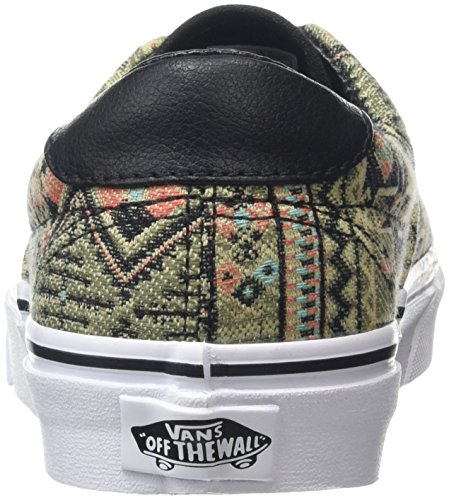 Plimsolls Geo Green Moroccan Black Sneakers Unisex Ivy Era Vans TwtqxZXUT