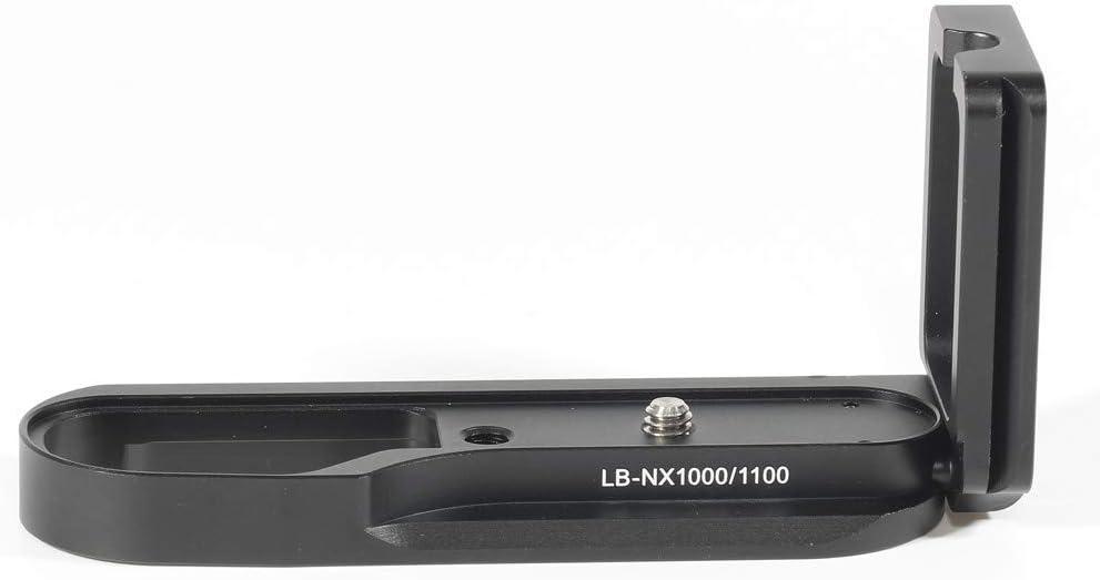 Pixco Metal Quick Release L Plate Bracket Holder Hand Grip Vertical External for Leica M9 Leica M8 Camera