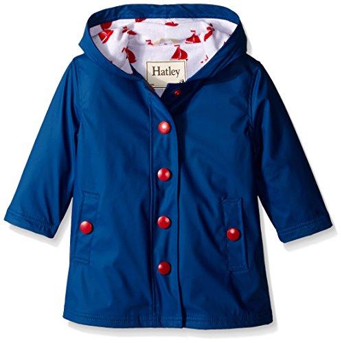 Hatley Girls Solid Splash Jacket