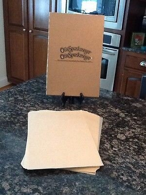 Pan Liner Sheet (Otis Spunkmeyer Package of 500 Parchment Paper Tray Pan Sheet Liners)