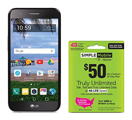 Tracfone Wireless Simple Mobile LG Grace 4G LTE Prepaid S...