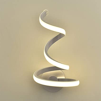 MetalLámpara InteriorAplique Pared De Moderno Blanco WD2YH9eEI