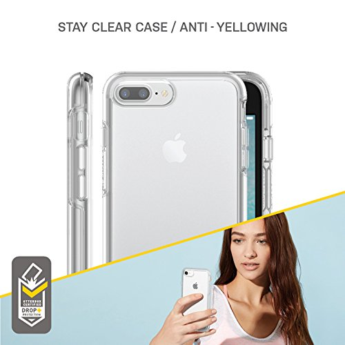 OtterBox SYMMETRY CLEAR SERIES Case for iPhone 8/7 (ONLY) - Retail Packaging - CLEAR (CLEAR/CLEAR) by OtterBox (Image #5)
