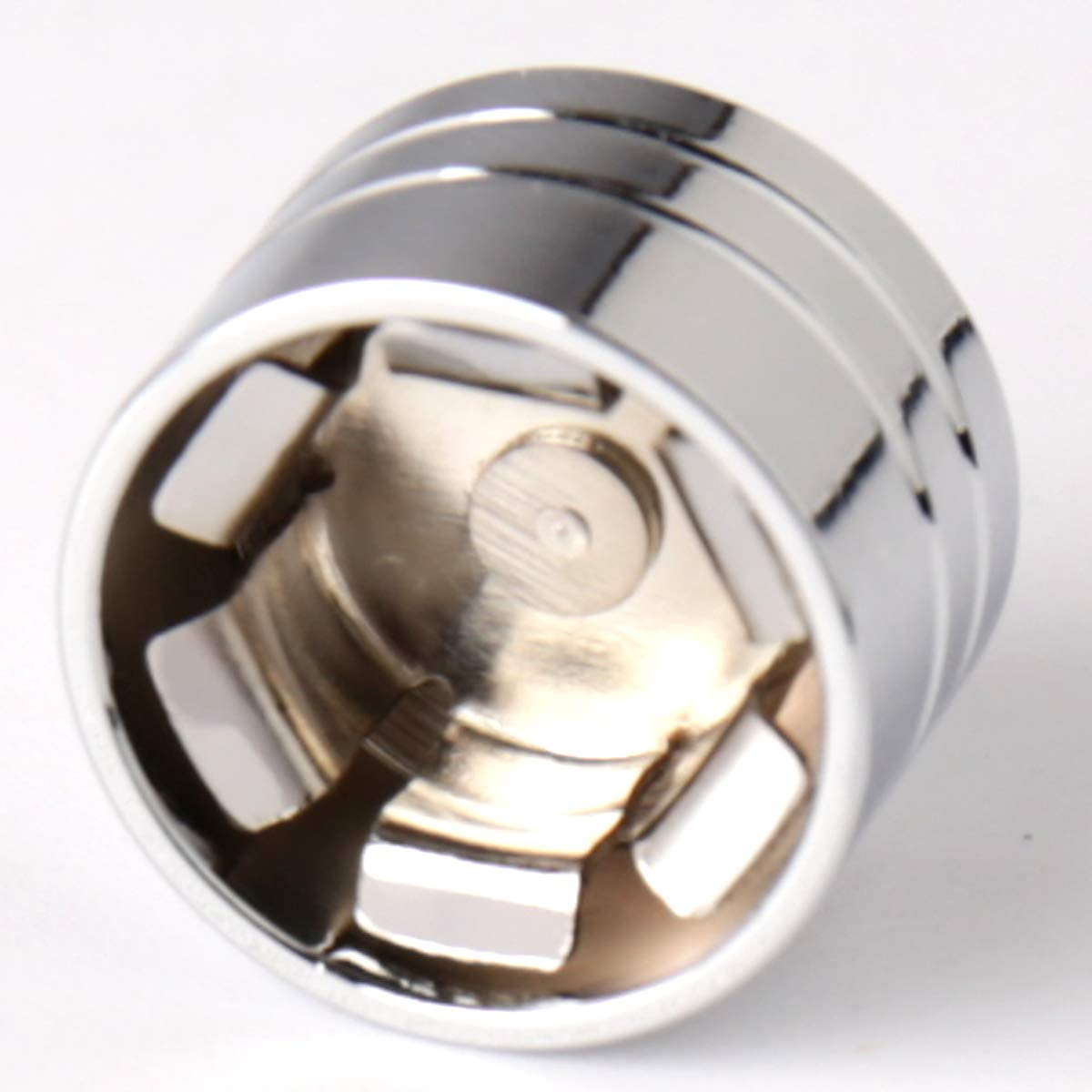 10pcs Chrome CNC Aluminum Push-On Topper 13mm 1//2 Bolt Cap Cover Fit For Harley Cruiser Motorcycle