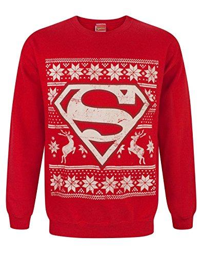 DC Comics Superman Christmas Sweatshirt