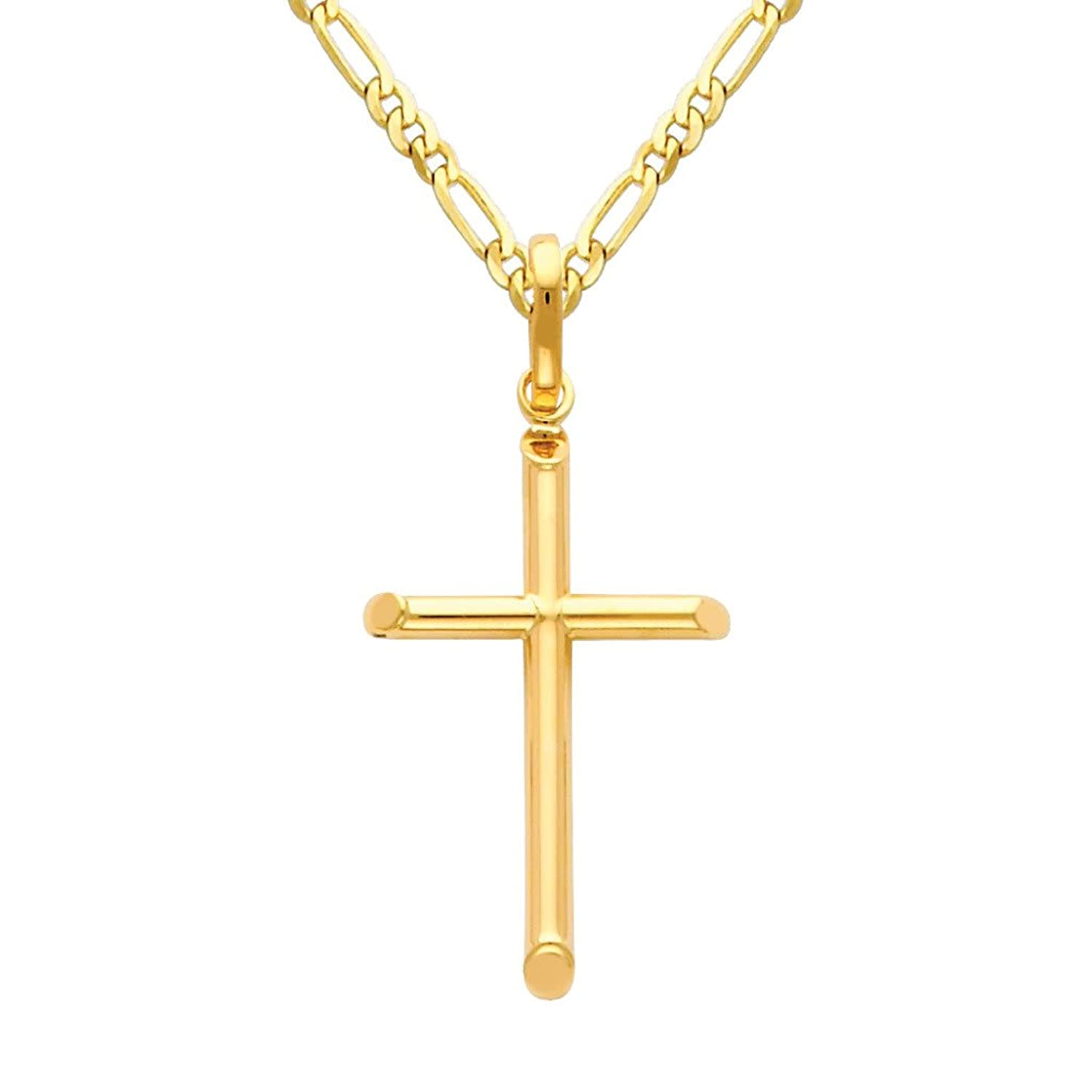 14K Yellow Gold Jewelry Pendants /& Charms Solid Polished Textured Bow Arrow Pendant
