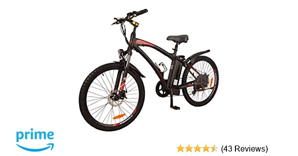 Sell Us Your Bike Reviews >> Dj Mountain Bike 750w 48v 13ah Power Electric Bicycle Ul 2849 Matte Black Led Bike Light Fork Suspension And Shimano Gear