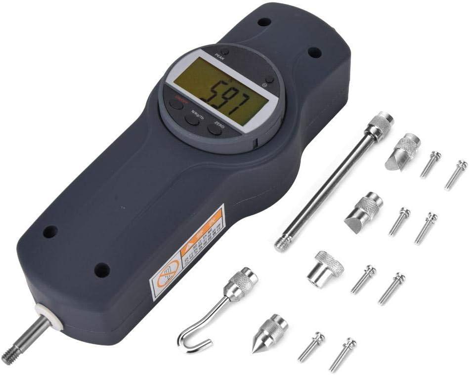 Digital Force Meter, Digital Pull Force Gauge, Practical for Machinery Industries Measuring Supplies Measuring Tool Industrial Hardware(300) 100