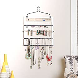 Hives Honey 6008-080 Jewelry Organizer Bracelet Holder Rod, White