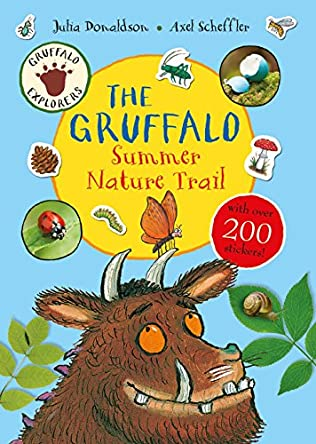 book cover of The Gruffalo Summer Nature Trail
