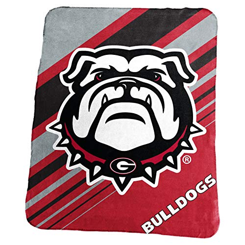- Logo Brands NCAA Georgia Bulldogs 23 Classic Fleece, Red, One Size