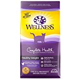 Wellness Complete Health Natural Dry Cat Food - Healthy Weight Chicken & Turkey Recipe - 6-Pound Bag