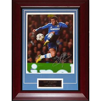 3b549f11a Image Unavailable. Image not available for. Color  Eden Hazard Autographed  ...