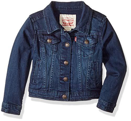 Girl Denim Jacket (Levi's Big  Girls' Denim Trucker Jacket,Tailored)