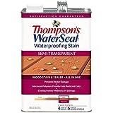 THOMPSONS WATERSEAL 042851-16 Semi Transparent Stain, Cedar