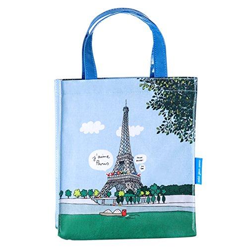 Barbapapa Paris Kindergepäck, 24 cm, Blau (Blue)