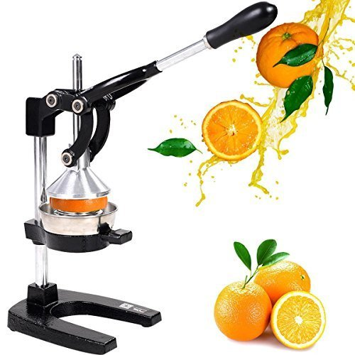 Heavy Duty Commercial Bar Citrus Press Orange Lemon Fruit Manual Squeezer Juicer by Home & Graden by Home & Graden
