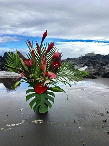 Extra Large Tropical Surprise Flower Arrangement by Hana Tropicals