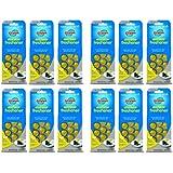 Glisten Disposer Care Freshener, Lemon Scent, 12 Pack, 120 Use