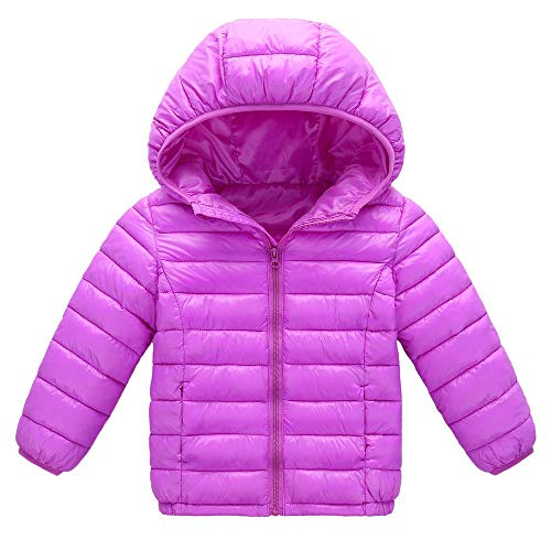 Baby For Girls Phat Coats (VEKDONE Toddler Baby Boys Girls Outerwear Hooded Coats Winter Jacket Kids Clothes)