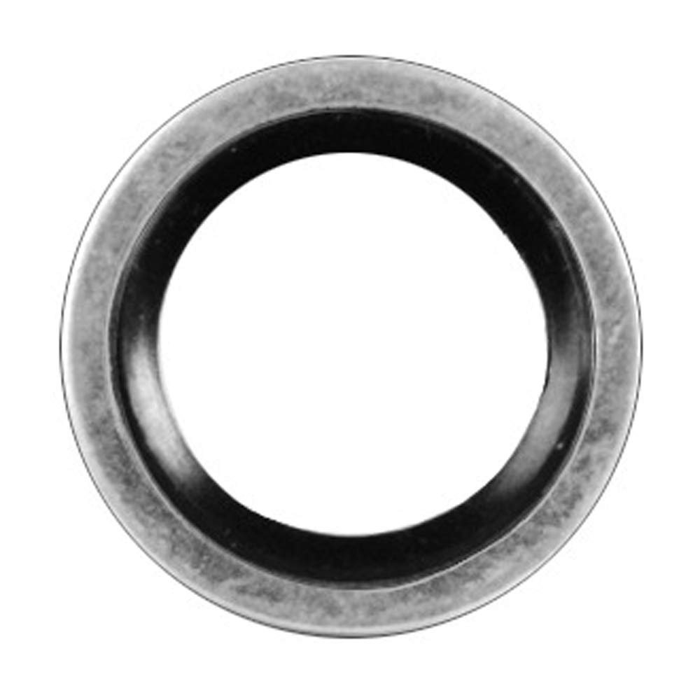Clipsandfasteners Inc Oil Drain Plug Gasket 16mm I.D. Steel W/Seal