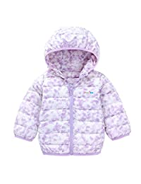 YOUQI Baby Girls Clothes Kids Boys Light Down Coat Winter Jacket Outerwear Snowsuit