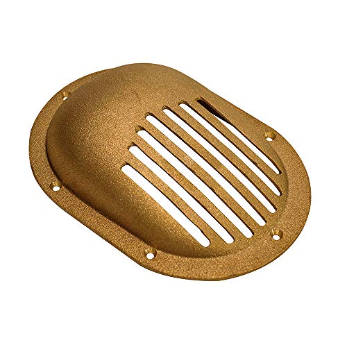 (Groco Bronze Clam Shell Style Hull Strainer f/Up to 2-1/2