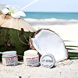All Natural, Vegan Coconut Lip Scrub - Gentle