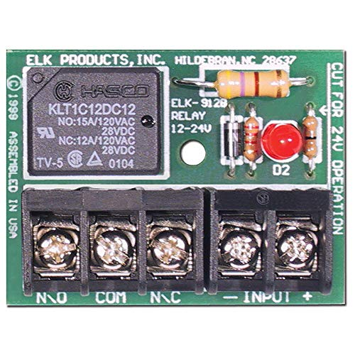 Relay 24v (ELK PRODUCTS ELK912B ELK ELK 12/24V RELAY HEAVY DUTE MODULE)