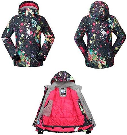 Womens Ski Suit Snow Suit Waterproof Windproof Women's Ski Jacket and Pants Snowboarding Jackets Coats